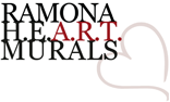 Ramona HEART Murals Logo