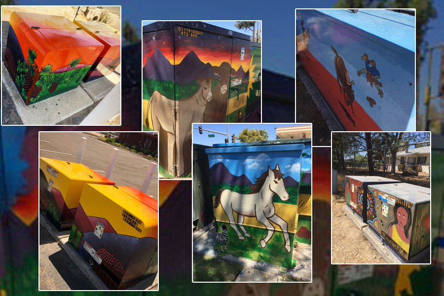 Utility Boxes Turned into Art